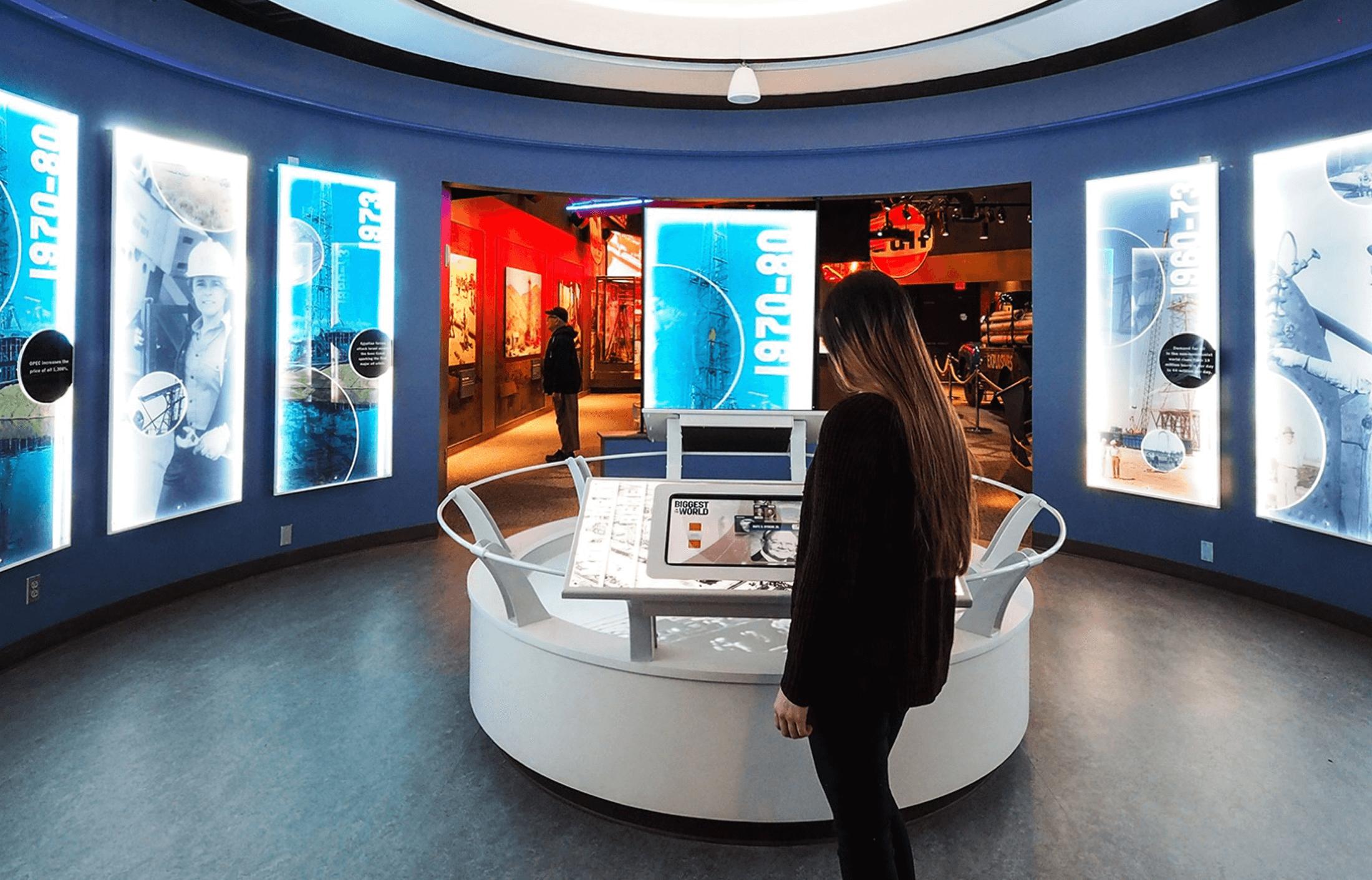 Petroleum Museum Exhibits