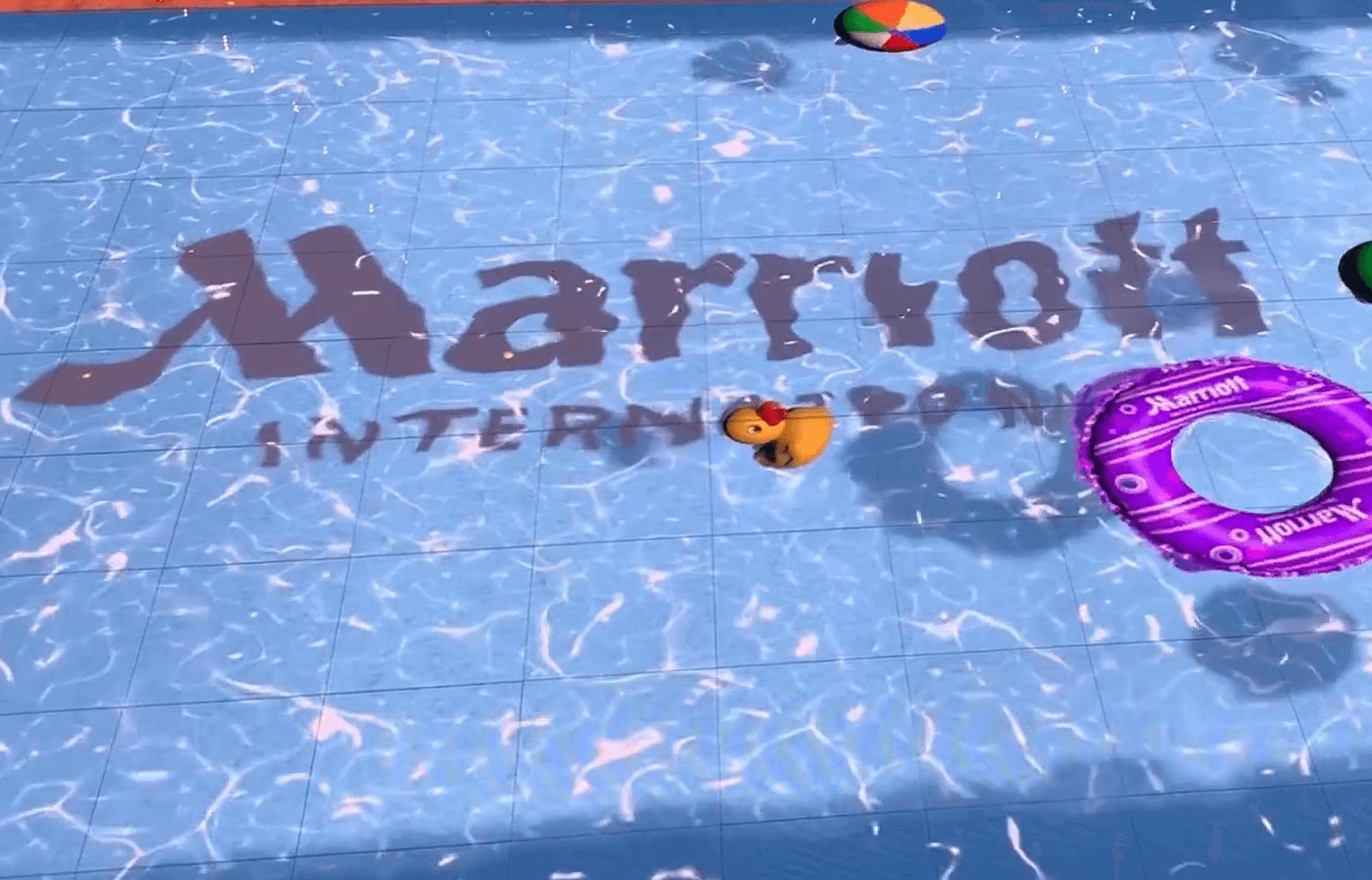 Marriott Interactive Floor