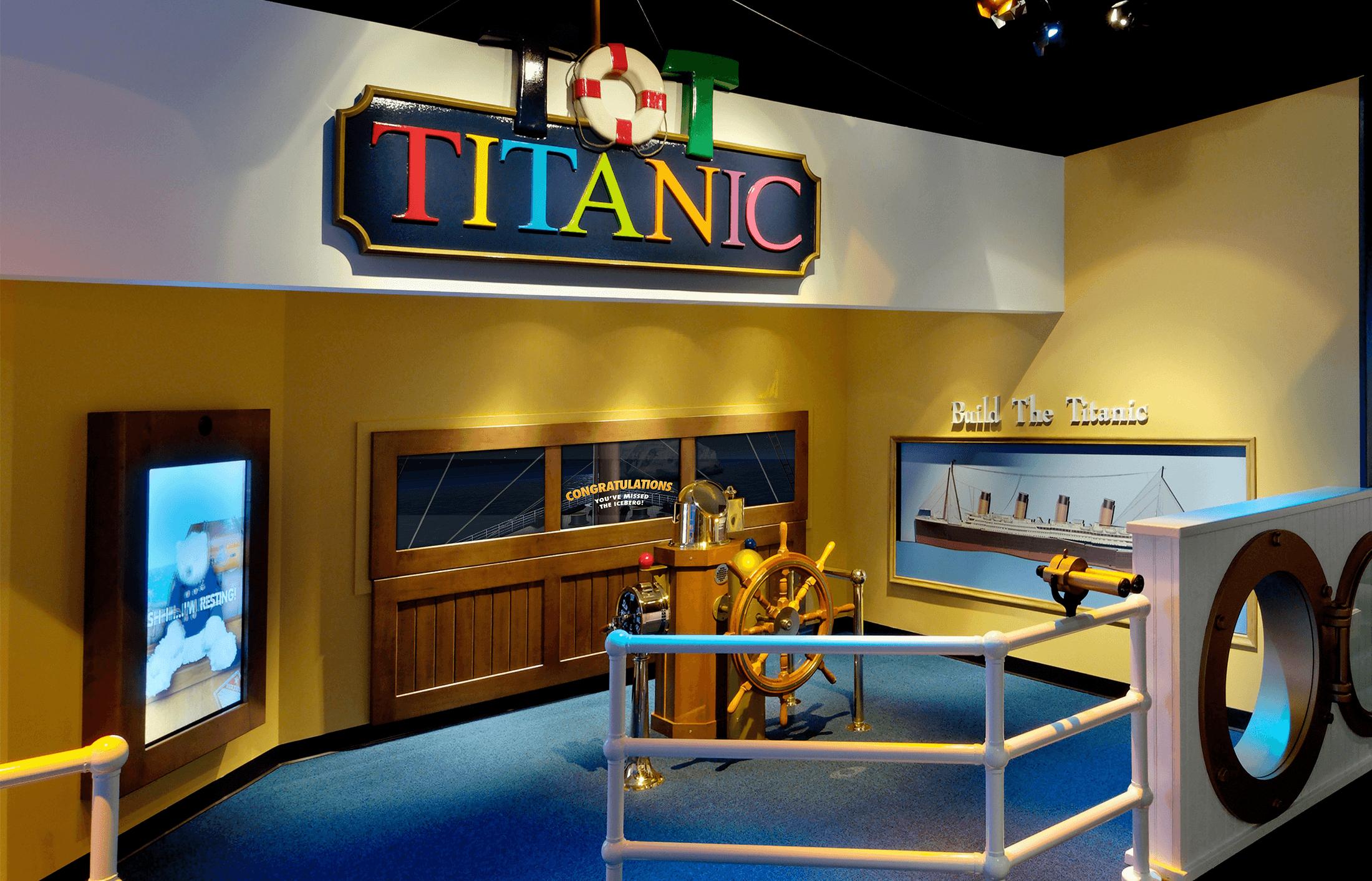 Titanic Museum Exhibits